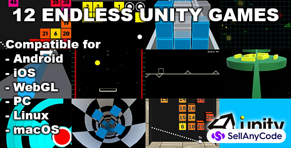 12 Endless Unity Games Bundle