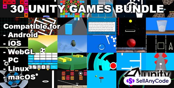 30 Unity Games Bundle