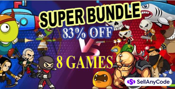 AI Games' SUPER Bundle Offer: 8 Premium Games