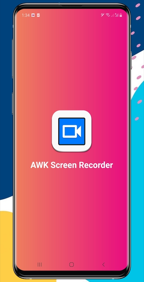 AWK Screen Recorder with Audio (Android 10 supported)