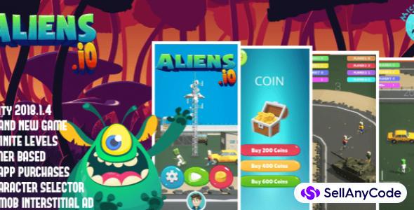 Aliens.io | Brand New Game | IO Games Trending !!