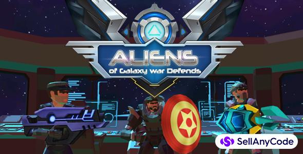 Aliens of Galaxy War Defends