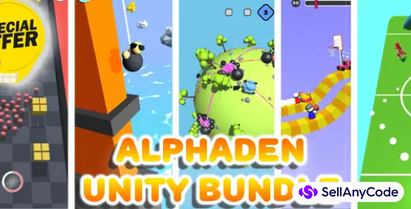 AlphaDen's Unity Bundle Offer: 5 Trending Games worth
