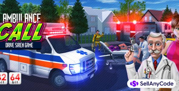 Ambulance Call Drive Siren Game