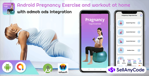 Android Pregnancy Exercise and workout at home (fitness app)