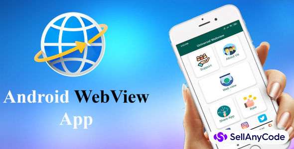 Android Web View App Source Code