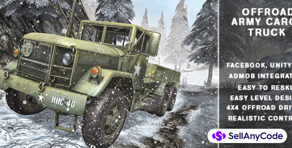 Army Cargo Truck Driving Simulation