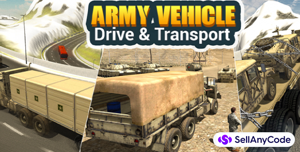Army vehicle Drive & Transport