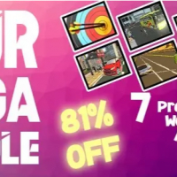 Azur Studio's Supper Mega Bundle Offer: 6 Premium Quality Games