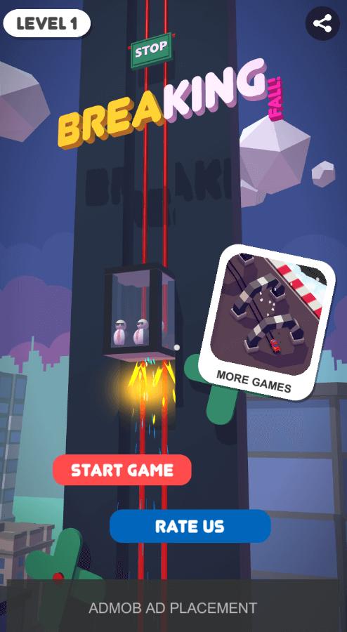 BREAKING FALL | ORIGINAL GAME