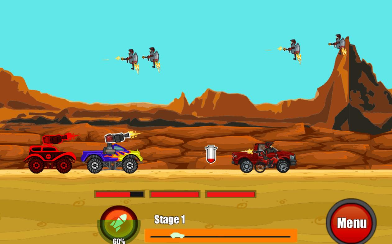 Battle On Road