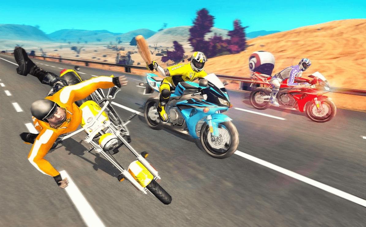 Bike Attack Race : Highway Tricky Stunt Rider
