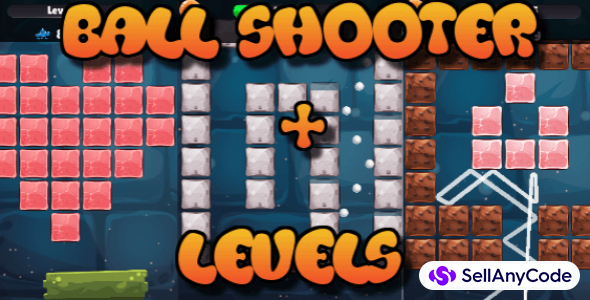Block Shooter with Level Map – Hyper Casual Game