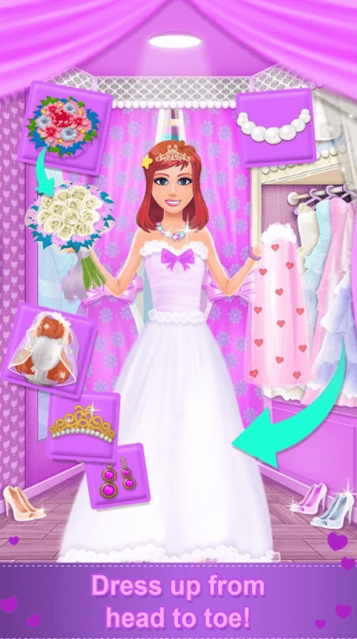 Bridal Boutique Salon:Wedding Planner Games