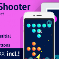Bubble Shooter: BuildBox Game Template (Easy Reskin)