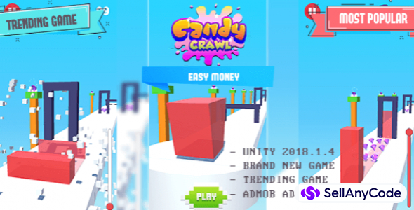 Candy Crawl – Top Trending game in Stores