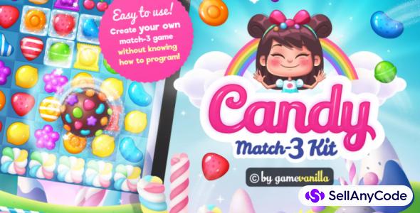 Candy Match 3 Kit