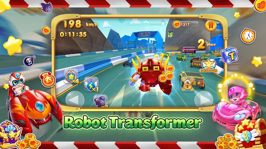 Car Transform Racing 64Bit