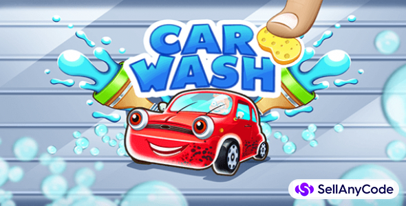 Car Wash Salon Game