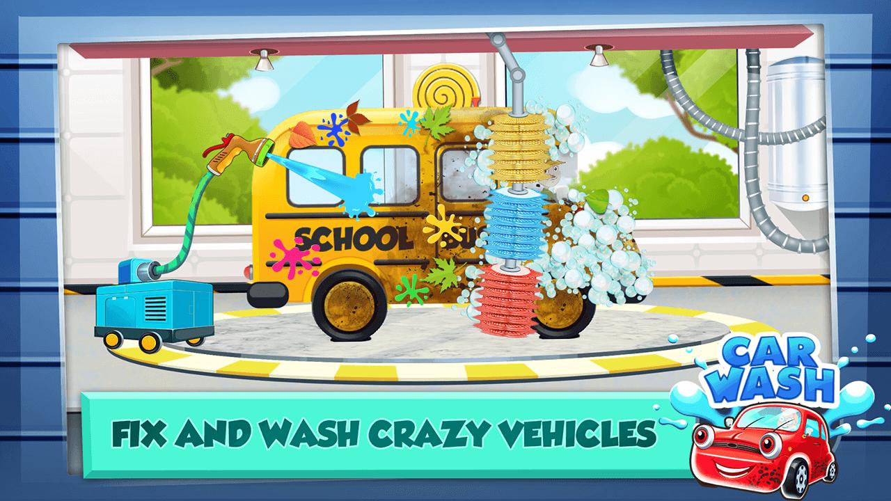 Car Wash Salon Game