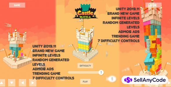 Castle Puzzle || Trending Casual Puzzle Game