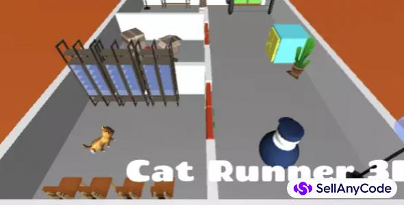 Cat Runner 3D – game template