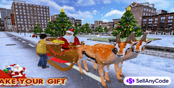 Christmas Santa Rush Gift Delivery