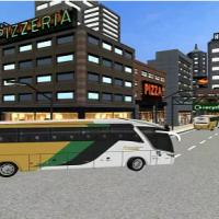 City Coach Bus Passenger Driving : Bus Parking 2021