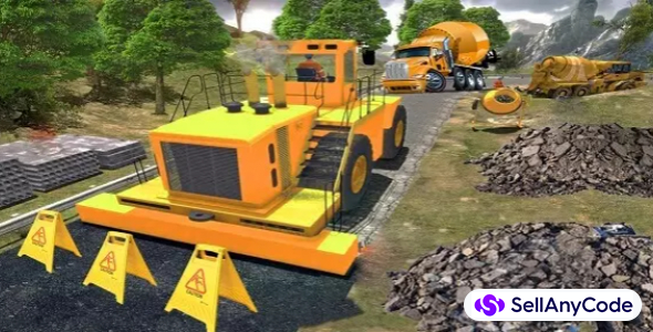 City Road Construction Simulator 3D