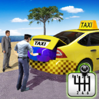 City Taxi Driving Simulator: PVP Taxi Game