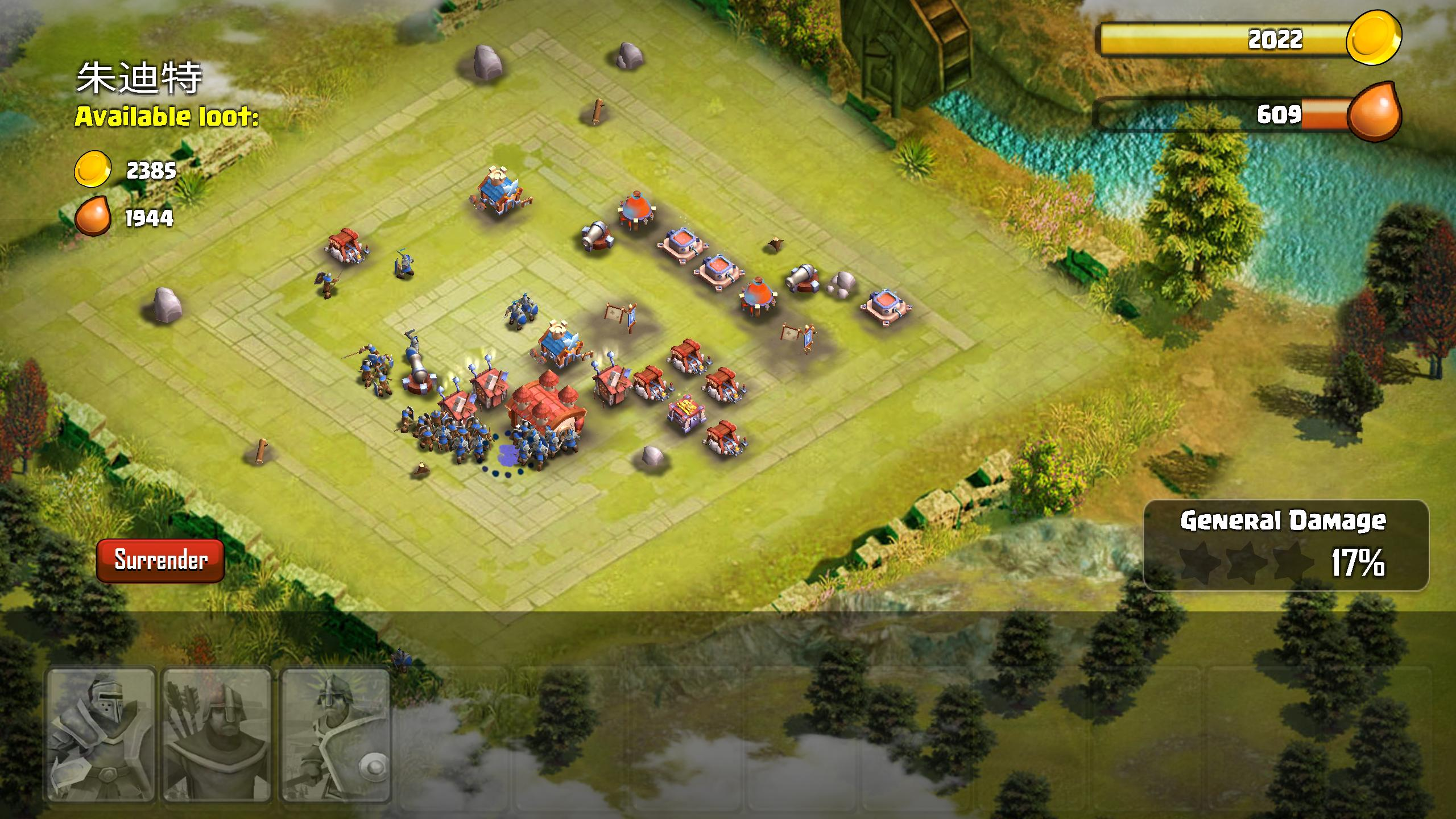 Clash Of Clans Clone Unity Game
