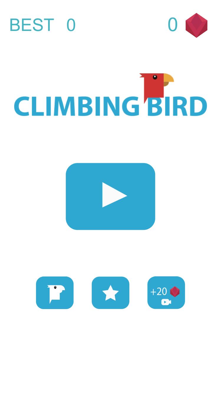 Climbing Bird