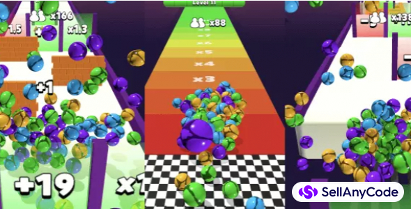 Clone Ball Run – Hyper Casual Game
