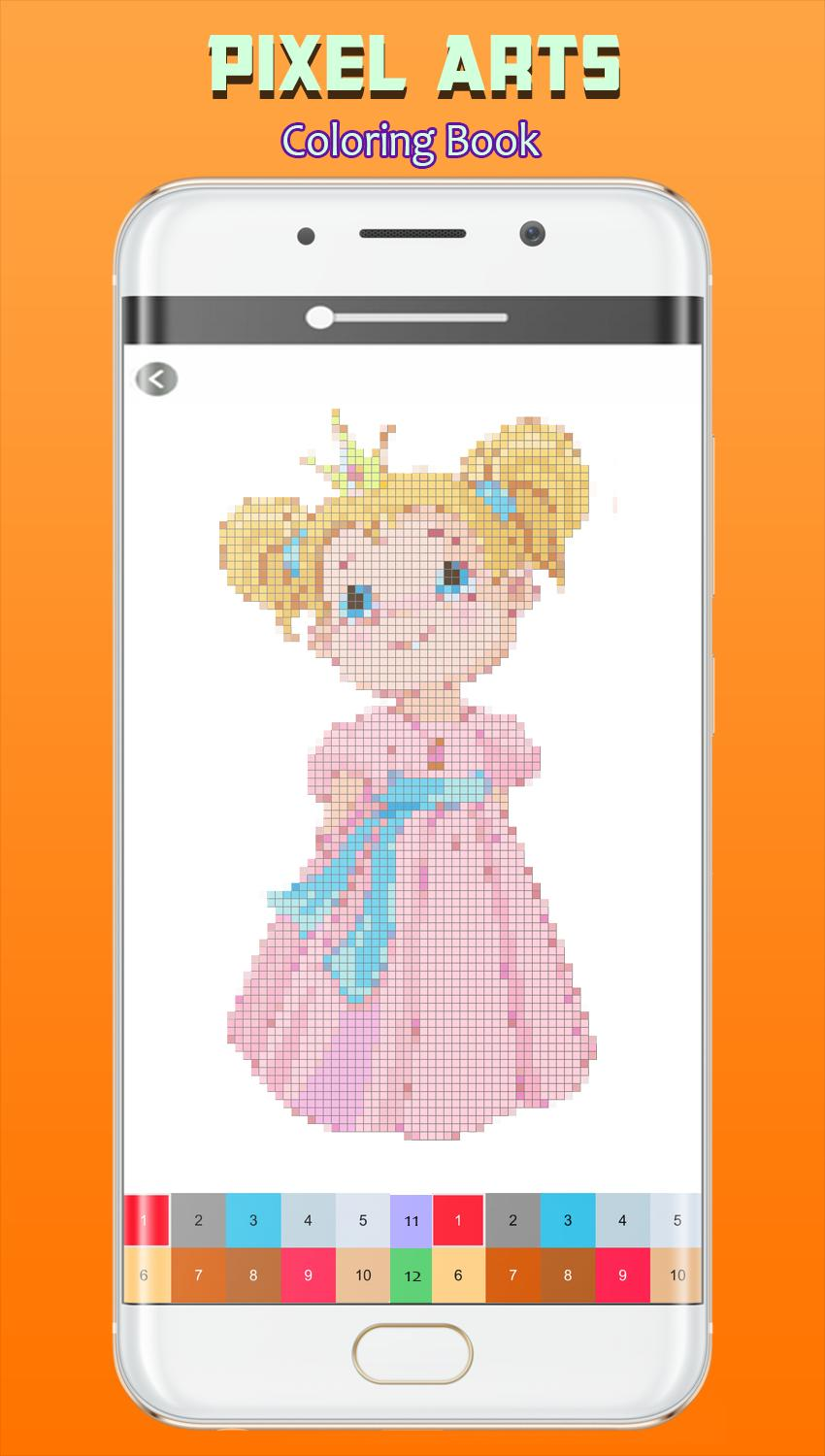 Color By Number Pixel Arts