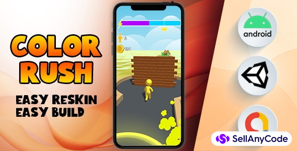 Color Rush - (Unity - Admob)