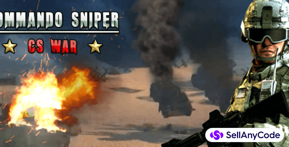 Commando Sniper CS War 3D