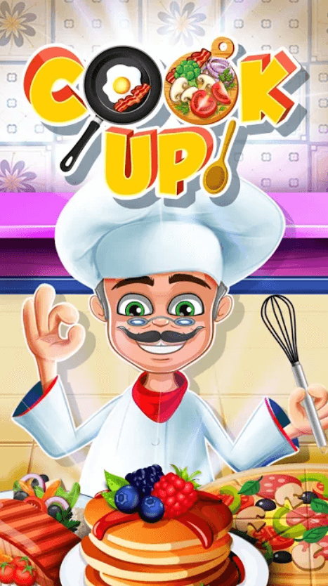 Cook Up! Yummy Kitchen Cooking Game