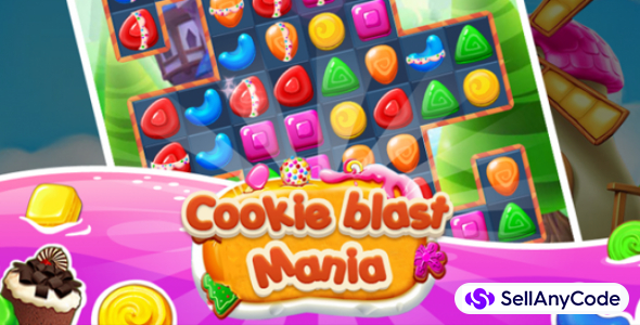 Cookie Blast Mania – Match 3 Template