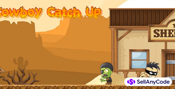 Cowboy Catch Up – Unity Full Source Code