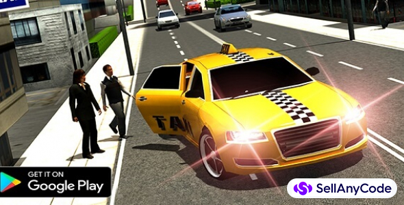 Crazy Taxi Simulator – Cab Sim Modern Taxi Game 64 Bit Source Code