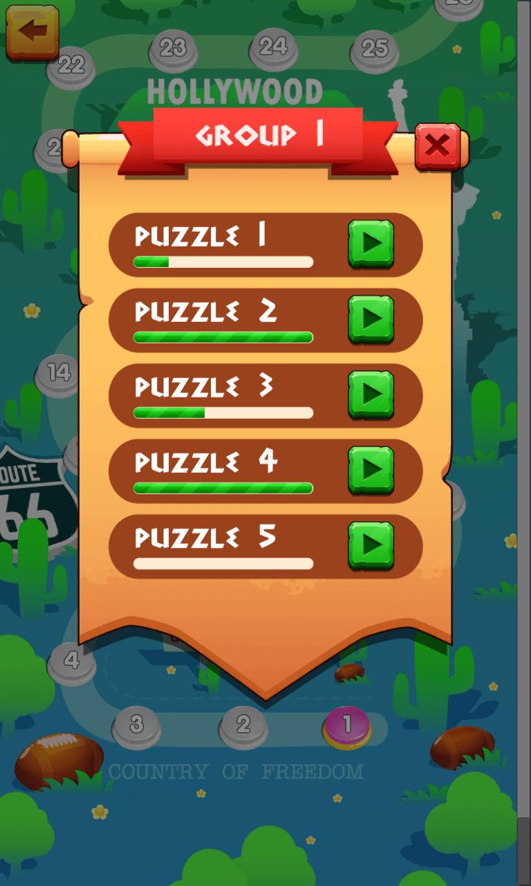 Crossy Word: Crossword Puzzles