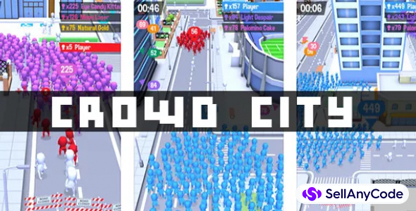 Crowd City – Huge Crowd in City