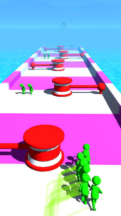 Crowd Run – Color Runner