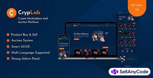 CrypLab - Crypto Marketplace Platform