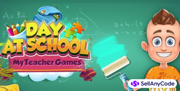 Day at School: My Teacher Game