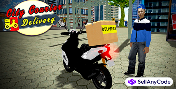 Delivery Riding Simulator