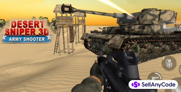 Desert Sniper Special Forces 3D Shooter FPS Game 64bit