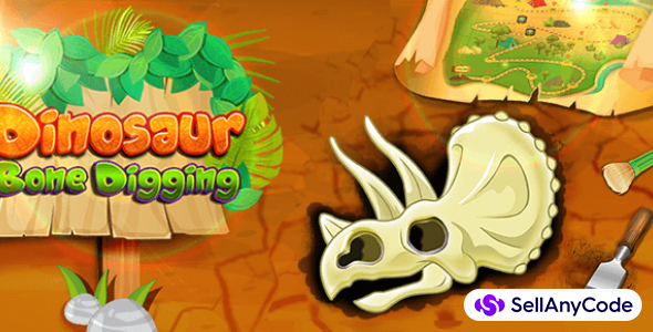 Dinosaur Bone Digging Games