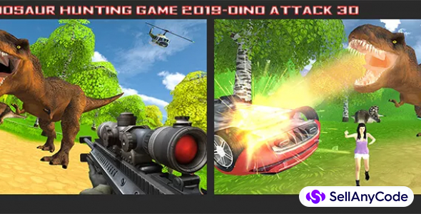 Dinosaur Hunting Game 2019 – Dino Attack 3D