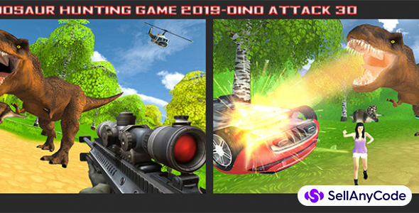 Dinosaur Hunting Game – Dino Attack 3D